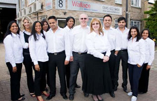 The Wallace team
