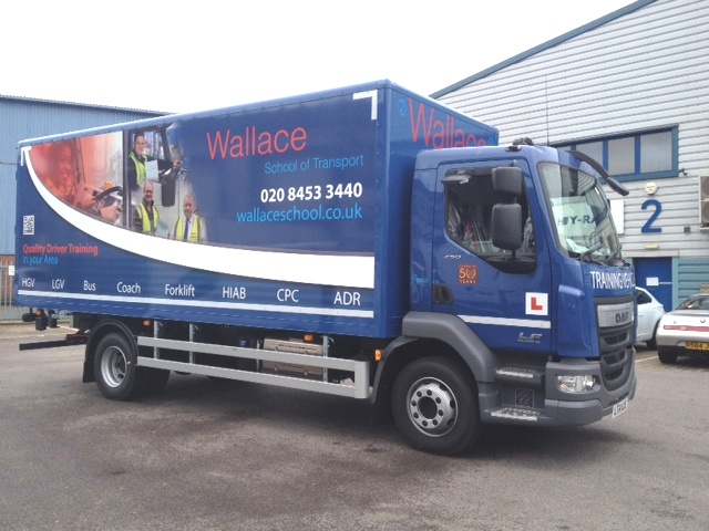 Wallace LGV C / HGV Class 2 Auto Training Vehicle