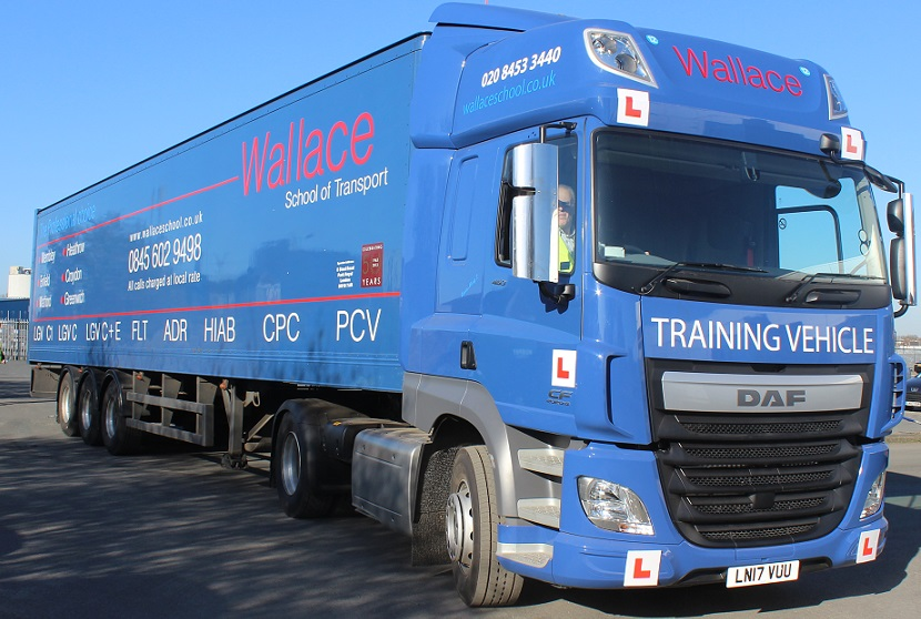 HGV Class 1 training with Wallace School of Transport