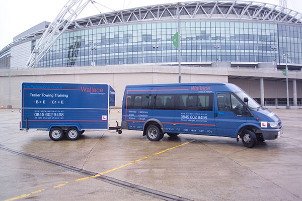 Wallace D1+E Minibus and Trailer Training