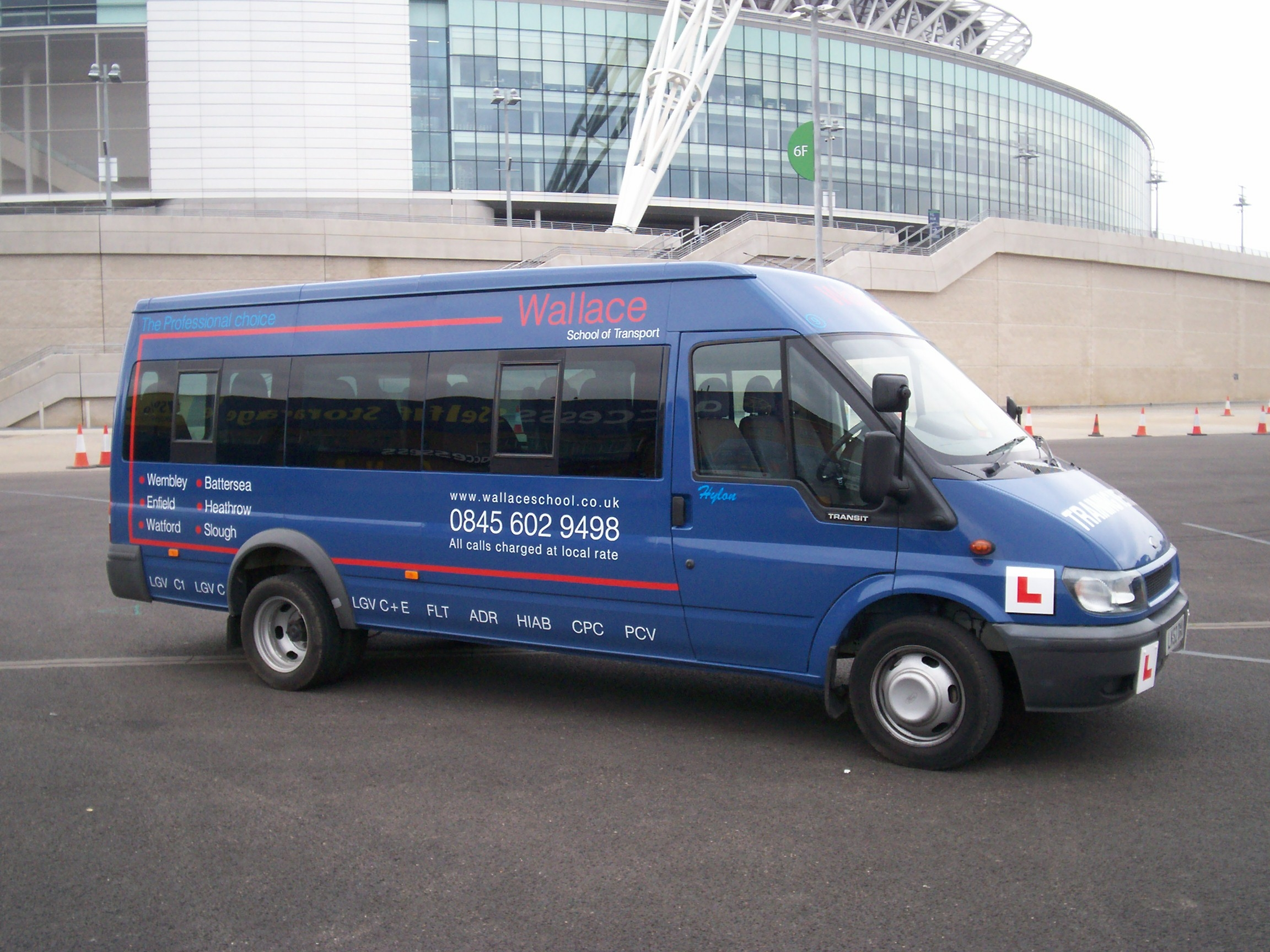 Wallace D1 Minibus Training