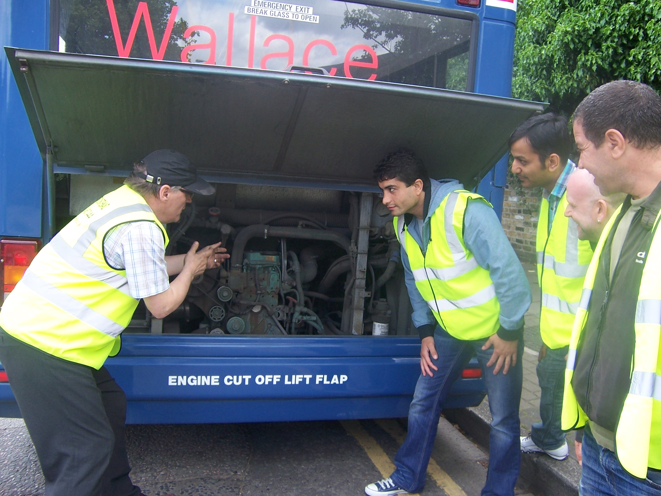 Wallace Bus Coach Practical Demonstration Test