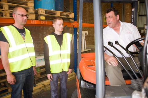 Counterbalance Forklift Licence - Introduction to Controls