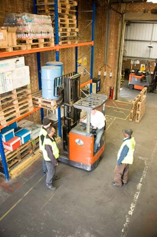 Wallace Reach Forklift Training
