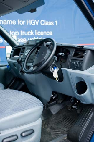 Car like controls and feature with hydraulic brakes