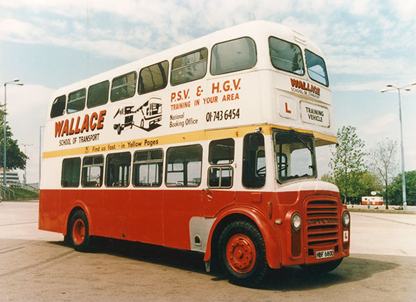 Last Double Decker (before passing coach test was a 'all-types' licence)