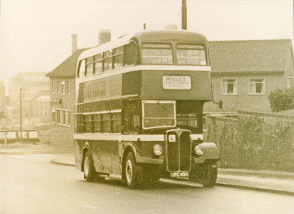 One of our first PCV training vehicles 1963
