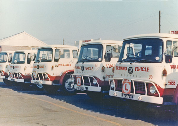 Bedford TK HGV training vehicles (1974)