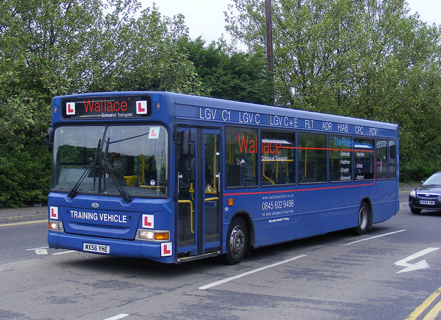 Bus and Coach PCV Licence Training