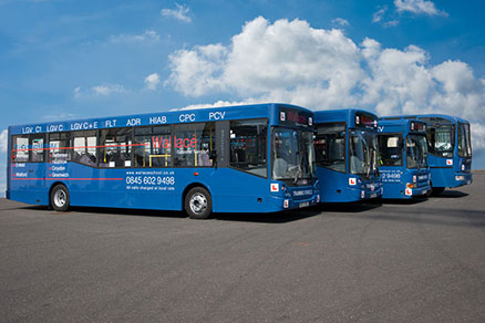 Obtain your Bus and Coach Licence to drive all types of PCV