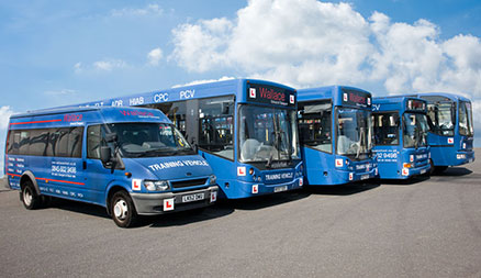 Wallace PCV D & D1 Minibus, Bus and Coach Driver Training