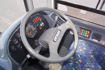 Easy to use controls which help you pass your PCV test quickly