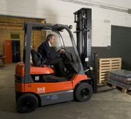 Wallace Counterbalance Forklift Training